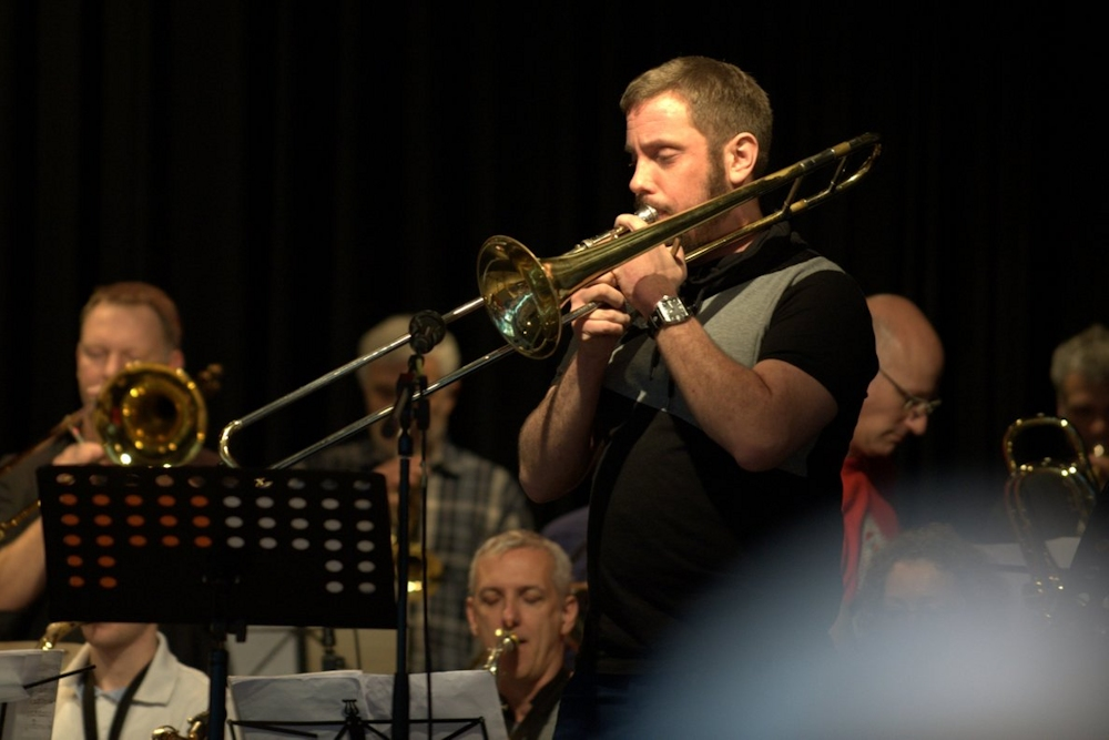 Bongos Bigband: Daniel Stäcker
