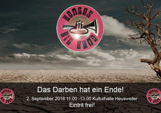 2. September 2018 - Kulturhalle Heusweiler