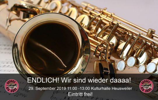 29. September 2019 - Kulturhalle Heusweiler