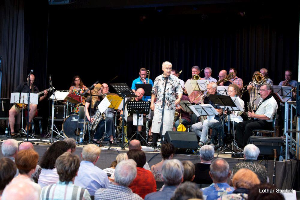 Bongos Bigband: 17. Juni 2018 Kulturhalle Heusweiler